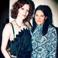 Karen Elson and Tabitha Simmons