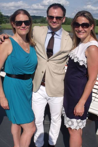 Emma Galland, Andy McLaren and Lizzie Young