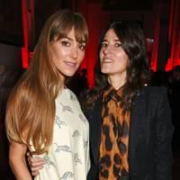 Jacqui Ainsley and Bella Freud