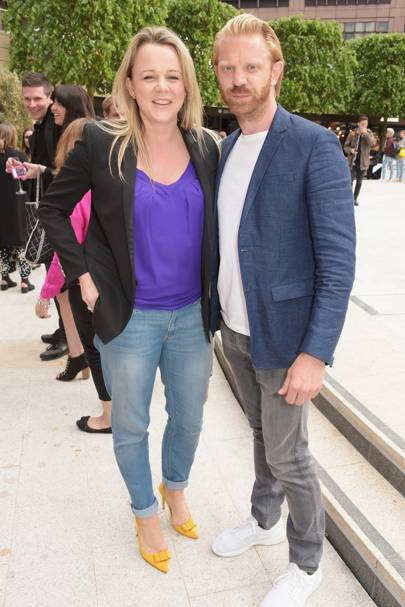 Sophie Michell and Alistair Guy