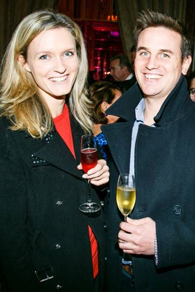 Annabel Goldie-Morrison and Tim Hare