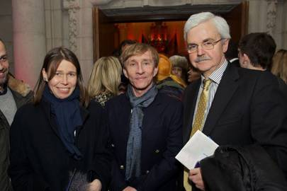 Lady Sarah Chatto, Jasper Conran and Tony Little