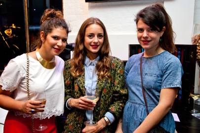 Yasmin Nick, Victoria Cassagnaud and Coralie de Robert