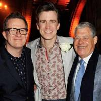 Matthew Bourne, Gavin Creel and Cameron Mackintosh