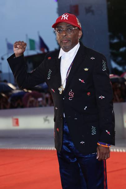 Spike Lee at the A Star Is Born premiere