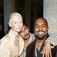 Tilda Swinton, Haider Ackermann and Kanye West