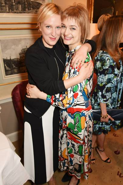 Sara Sjolund and Alison Sudol