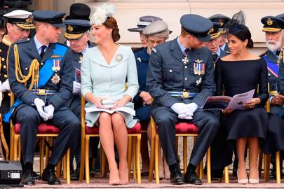 The Duke of Cambridge, the Duchess of Cambridge, the Duke of Sussex and the Duchess of Sussex