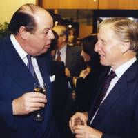 The Hon Nicholas Soames and Sir William Benyon