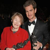 Glenda Jackson and Andrew Garfield