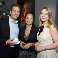Georges Karam, Rowena Macrae and Alice Holland