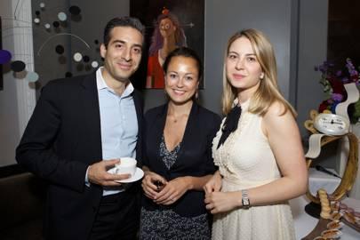 Georges Karam, Rowena Macrae and Alice Holland
