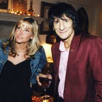 Mrs Nicholas Cowan and Ronnie Wood