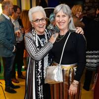 Rosita Missoni and Caroline Burstein