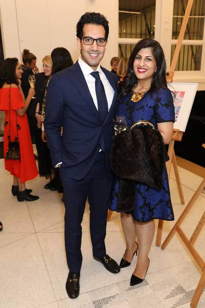 Ameel Somani and Faaiza Lalji