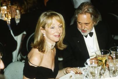 Lady Arnold and Sir David Puttnam