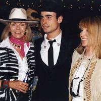 Mrs Nick Cook, Leo Fenwick and Mrs Jenny Dearden