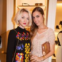 Portia Freeman and Amber Le Bon