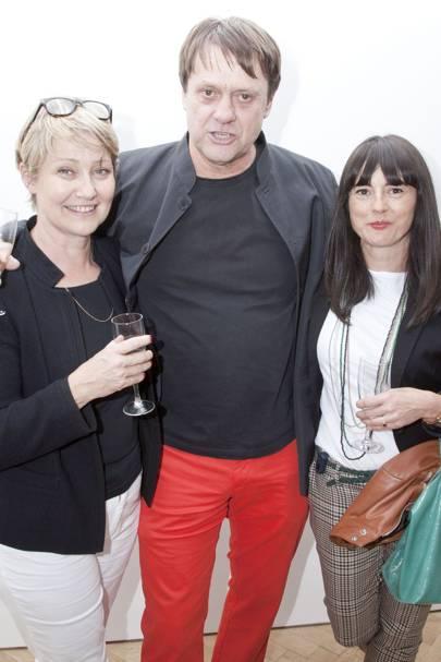 Anne Viard, Etienne Viard and Sarah Cortott