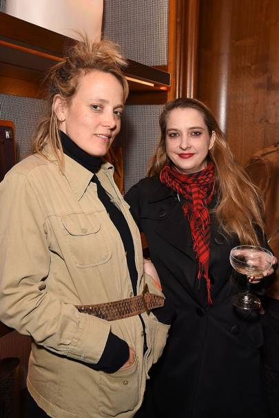 Bay Garnett and Daisy de Villeneuve