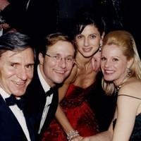 Peter Tufo, Basil Mavroleon, Mrs Kalioppe Carelas and Mrs Peter Tufo