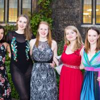 Ella Irwin, Kate Read, Lucy Morgan, Laura Robinson and Ailsa Kiely