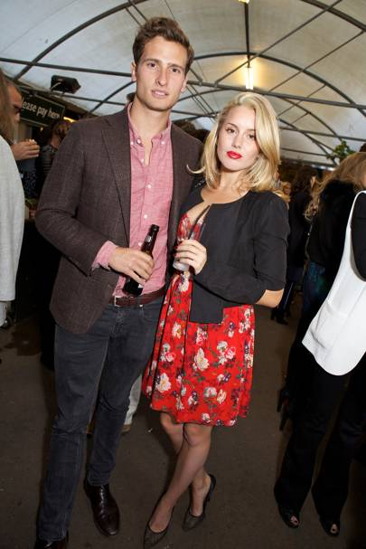 Tom Warren and Caggie Dunlop