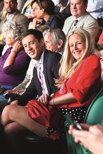 James Rothschild and Astrid Harbord