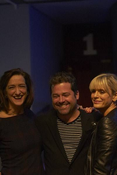 Haydn Gwynne, Peter DuBois and Emilia Fox