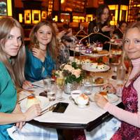 Georgie Macintyre, Amber Atherton and Martha Ward