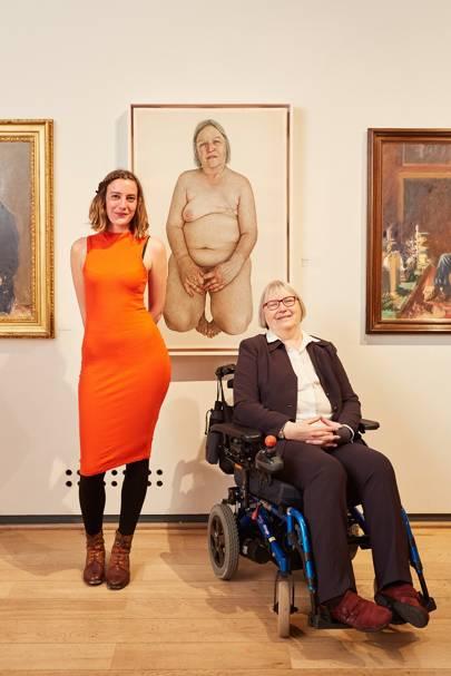 Emma Hopkins and Ann Bates