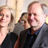 Bec Astley Clarke and Clive Anderson