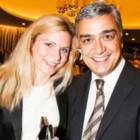 Sandra Leis and Serhan Guven