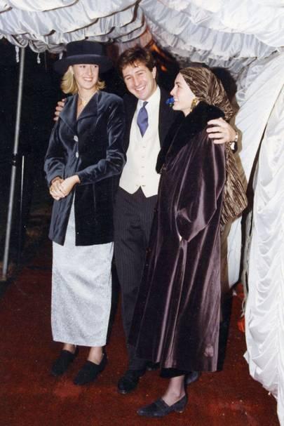 Zoe Robinson, The Earl of Ronaldshay and Flo Crawley