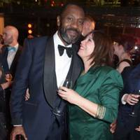 Lenny Henry and Lisa Makin