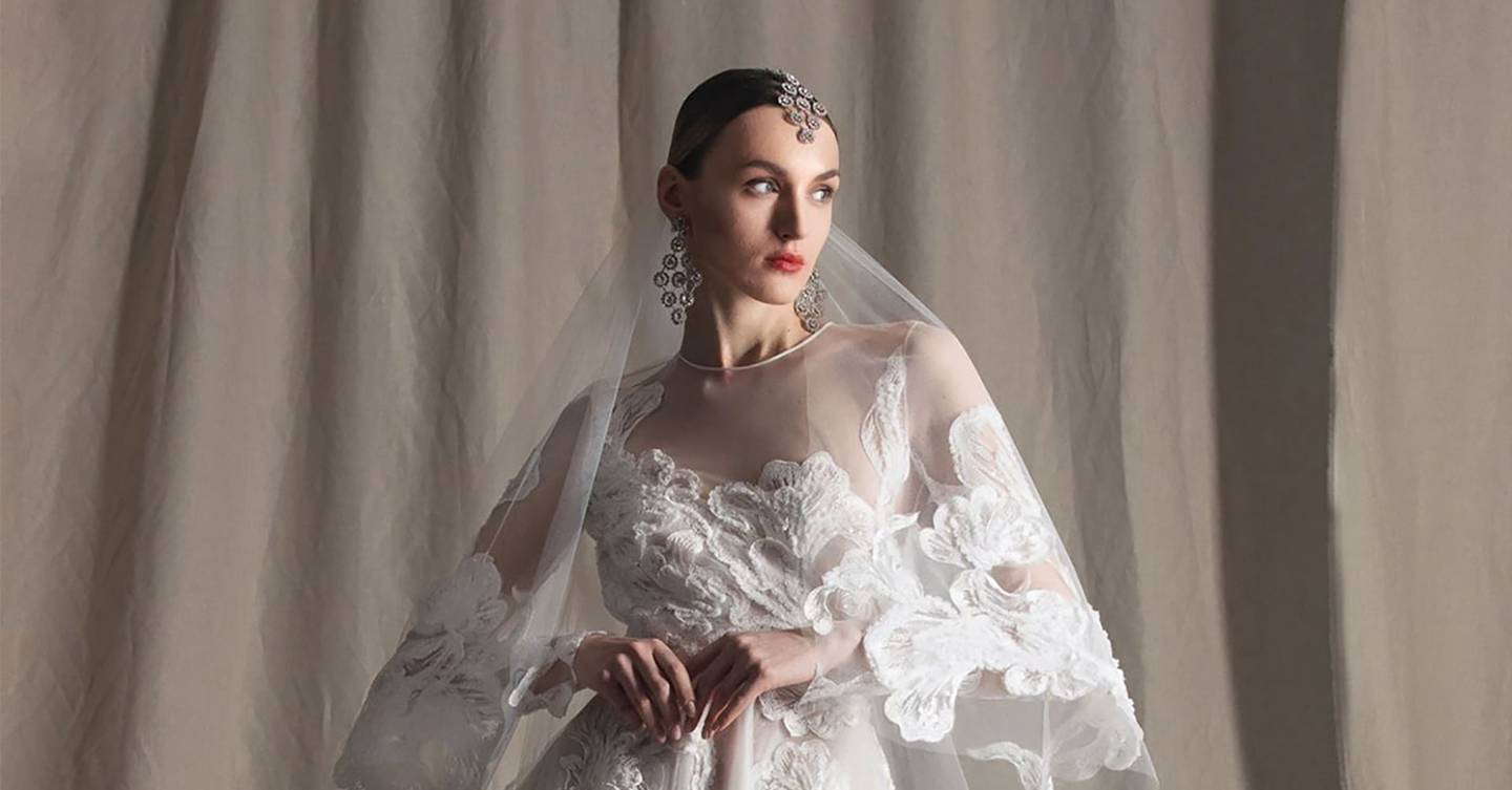 The dreamiest wedding dress inspiration from New York Bridal Fashion Week