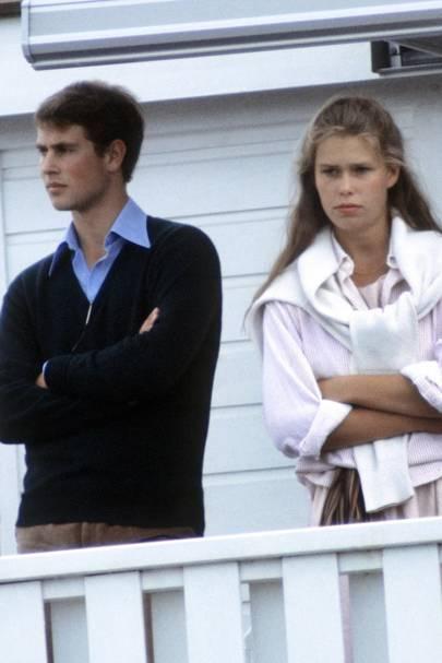 Prince Edward and Sarah Armstrong-Jones
