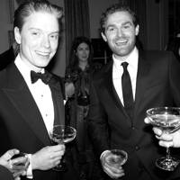 Freddie Fox and Mark Stanley
