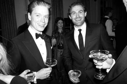 Freddie Fox and Mark Stanley