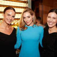 Nathalie Schyllert, Jacqui Ritchie and Emilia Wickstead