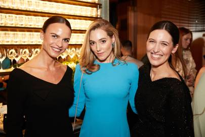 Nathalie Schyllert, Jacqui Ritchie and Emilia Wickstead