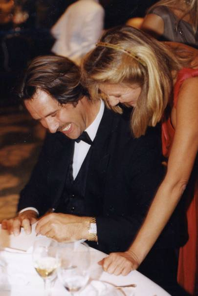 David Seaman and Princess Chantal of Hanover