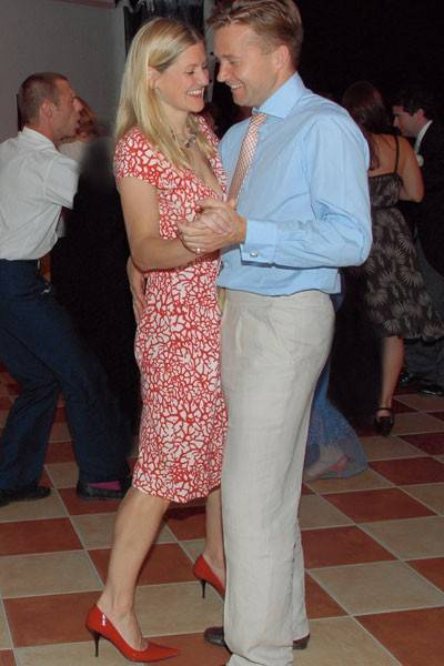 Mrs Henry Stewart and Henry Stewart