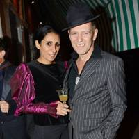 Serena Rees and Paul Simonon