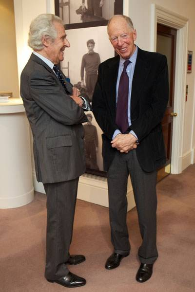 Peter Blond and Lord Rothschild