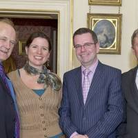 Sir Tim Smit, Jessica Taplin, Paul Kelly and Peter Stewart