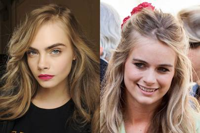 Eyebrows: Cara 1 - Cressida 0