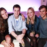 Alice Brinkley, Jakie Warren, Posy Brinkley and Nicholas Palmer