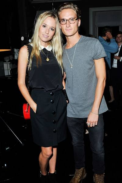 Florence Brudenell-Bruce and Ollie Proudlock