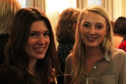 Emma Oulton and Bella Grubb